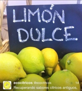 -Limón dulce