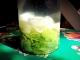 Licor de limón verde
